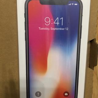 アイフォーン(iPhone)のmishin様用iPhoneX 256GB SIMフリー gray no.5(スマートフォン本体)