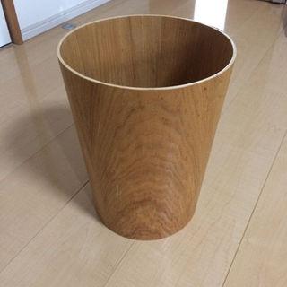 ムジルシリョウヒン(MUJI (無印良品))の無印良品 木 ゴミ箱(ごみ箱)