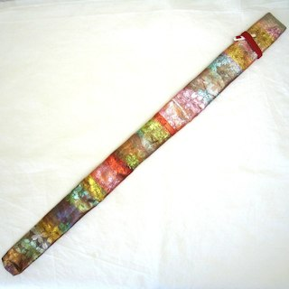 明鏡楽器 篠笛袋 錦織 ⑪(横笛)