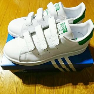 アディダス(adidas)の新品 アディダス adidas スタンスミス ベルクロ タグ付き スニーカー 靴(スニーカー)