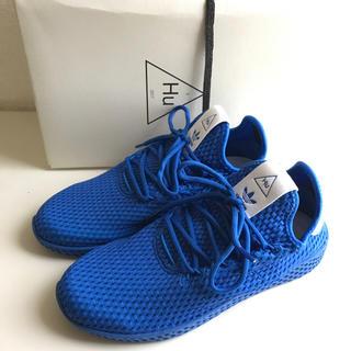 アディダス(adidas)のadidas Pharrell Williams Tennis Hu ブルー(スニーカー)