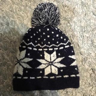 ムジルシリョウヒン(MUJI (無印良品))の無印良品 キッズ ニット帽(帽子)
