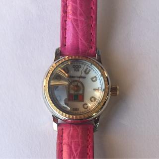 リトモラティーノ(Ritmo Latino)の【美品】Ritmo Latino ピンクレザーベルト レディース 腕時計(腕時計)