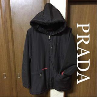 プラダ(PRADA)の正規品♦︎プラダ  ナイロン ジャケットパーカー   サイズ L(ナイロンジャケット)
