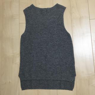 ムジルシリョウヒン(MUJI (無印良品))の無印良品   新品  ニットベスト(ニット/セーター)