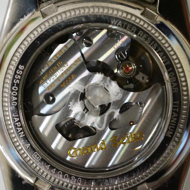 san francisco 2e62d 730f7 正規品 SEIKO グランドセイコー9S55-00A0 SBGR025 腕時計