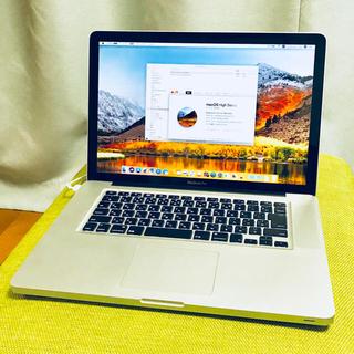 マック(Mac (Apple))のMacBook Pro 15inch(ノートPC)