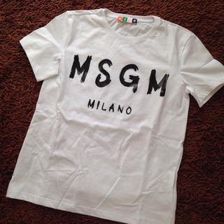 エムエスジイエム(MSGM)のsmhm様へ MSGM LOGO Tee(Tシャツ(半袖/袖なし))