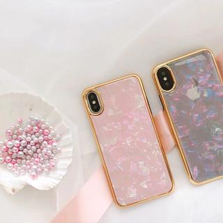 大人可愛いシェルケース★iphone8 iphonex★その他機種有り(iPhoneケース)
