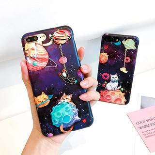 プラネットキャットケース★iphone8 iphone7★その他機種有り(iPhoneケース)