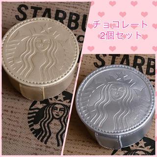 スターバックスコーヒー(Starbucks Coffee)の韓国 スタバ★2018 ニューイヤー チョコレート ポーチ付き(菓子/デザート)