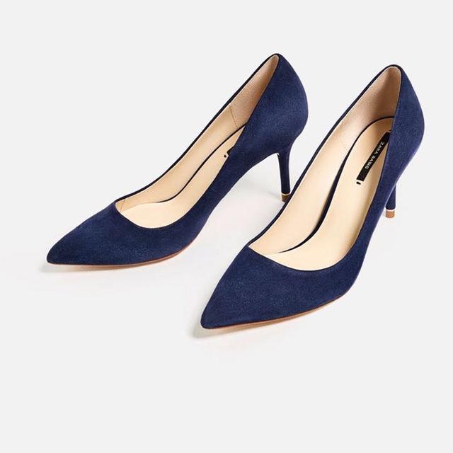 ZARA(ザラ)のお値下げ‼️ 👠ZARA パンプス サイズ39 👠 レディースの靴/シューズ(ハイヒール/パンプス)の商品写真