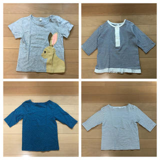 ムジルシリョウヒン(MUJI (無印良品))の無印良品 size90(Tシャツ/カットソー)