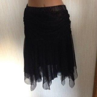 リズリサ(LIZ LISA)のトウララリズリサのシフォンスカート(ひざ丈スカート)
