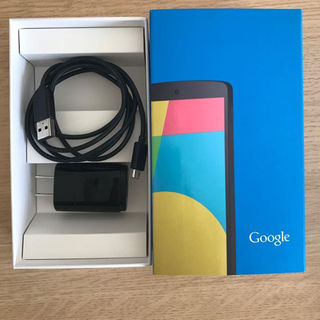 エルジーエレクトロニクス(LG Electronics)の新品未使用    Nexus5   充電コード(バッテリー/充電器)