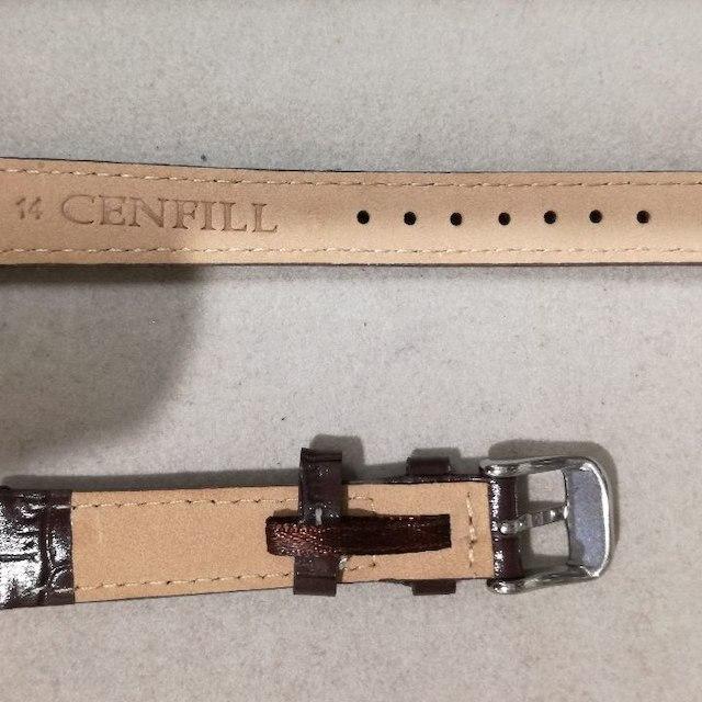[子育て応援価格!]時計ベルト14mmストレート