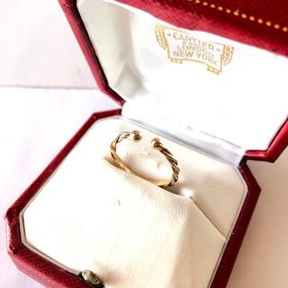 カルティエ(Cartier)のカルティエ トリニティ ツイスト リング k18 3カラー 50号 新品同様(リング(指輪))