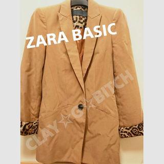 ザラ(ZARA)の【送料無料】 Mサイズ ZARA BASIC ジャケット コート アウター(その他)