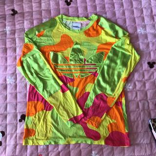 アディダス(adidas)のアディダス タグなし 新品 L(Tシャツ/カットソー(七分/長袖))