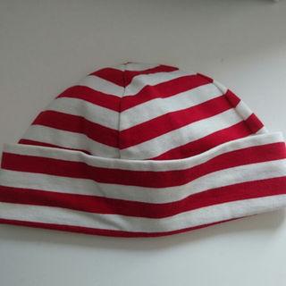 アニエスベー(agnes b.)の美品 agnes b. アニエスベー ベビー 帽子 サイズ(2)(帽子)