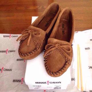 ミネトンカ(Minnetonka)の新品ミネトンカ ダスティ5.5 キルティ(ローファー/革靴)