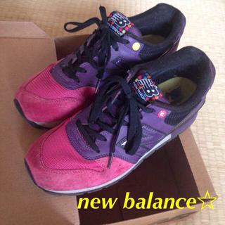 ニューバランス(New Balance)のニューバランス☆スニーカー 24.5(スニーカー)