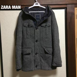 ZARA - ZARA MAN コート アウター ウール