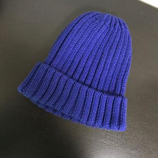 ジーユー(GU)の美品✨GU  キッズ ニット帽(帽子)