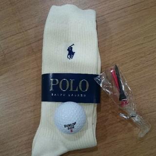 ポロラルフローレン(POLO RALPH LAUREN)のポロラルフローレン 靴下 ゴルフボール ティー セット(その他)