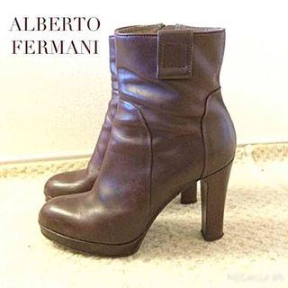 正規 アルベルトフェルマーニ  ALBERTO FERMANI ショートブーツ(ブーツ)