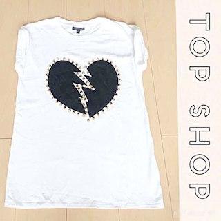 トップショップ(TOPSHOP)のスタッズ Tシャツ(その他)