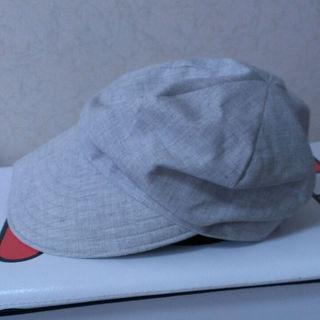 ムジルシリョウヒン(MUJI (無印良品))の《おまけ確認用》57.5cm  無印 帽子 グレー(その他)