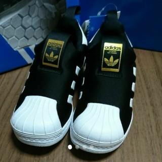 アディダス(adidas)の新品☆adidas☆アディダス☆キッズ☆スリッポン☆スニーカー☆スーパースター(スニーカー)