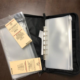 MUJI (無印良品) - 無印良品 パスポートケース 新品未使用 レフィル 付きの通販 by ポメリ's shop|ムジルシリョウヒンならラクマ