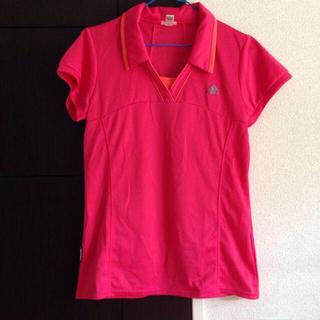 アディダス(adidas)のadidas☆スポーツシャツ(Tシャツ(半袖/袖なし))