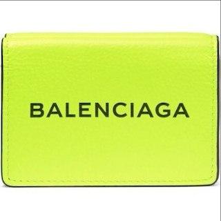 バレンシアガ(Balenciaga)の18SS 限定カラー BALENCIAGA ロゴプリント ミニウォレット(その他)