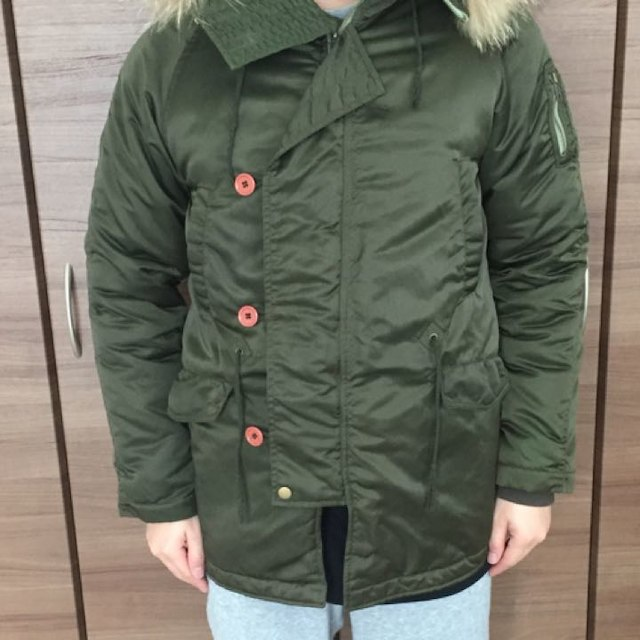 RAGEBLUE(レイジブルー)のRAGEBLUE ミリタリーコート メンズのジャケット/アウター(ミリタリージャケット)の商品写真