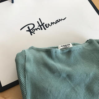 ロンハーマン(Ron Herman)のらんらん様専用★ロンハーマン×オーラリー auralee 完売ニット(ニット/セーター)