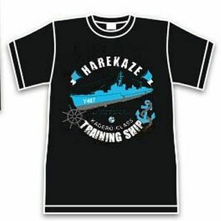 タイトー(TAITO)のハイスクール・フリート Tシャツ HARUKAZE 船 B 非売品(Tシャツ/カットソー(半袖/袖なし))