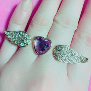 min plume 天使の羽の指輪(リング(指輪))