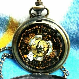 タイトー(TAITO)のファイナルファンタジー XIV モーグリ 懐中時計 新品非売 ゴールド(その他)