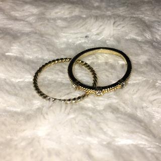 セット売り❗️ ピンキーリング ゴールドカラー(リング(指輪))