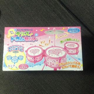 キッズドラム セット ドラムセット おもちゃドラム ピンク(その他)