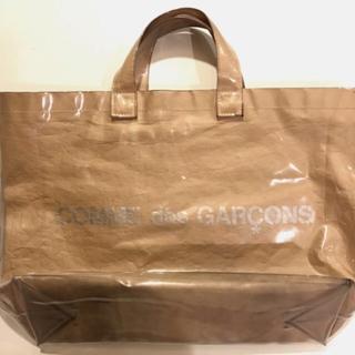 コムデギャルソン(COMME des GARCONS)のコムデギャルソン PVCトートバッグ(その他)