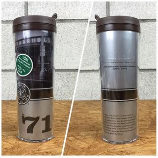 ムジルシリョウヒン(MUJI (無印良品))のスターバックス 1号店限定 タンブラー 未使用・保管品(グラス/カップ)