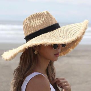 ルームサンマルロクコンテンポラリー(room306 CONTEMPORARY)のroom306♡summer wide hat(麦わら帽子/ストローハット)