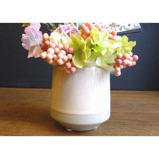 【ひな祭り】ボッテリーの桃の節句アレンジ ーウサギ ハンドメイドのフラワー/ガーデン(その他)の商品写真