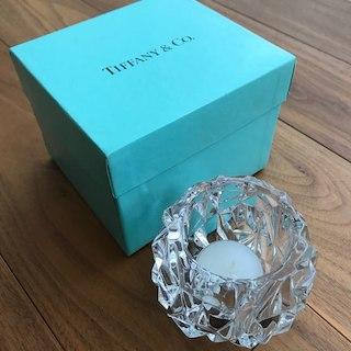ティファニー(Tiffany & Co.)の春爛漫ぱるる様専用ティファニーキャンドルホルダー(その他)