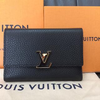 ルイヴィトン(LOUIS VUITTON)の新品未使用 ルイヴィトン カプシーヌ 財布 ブラック 黒 バッグノアール サイフ(財布)