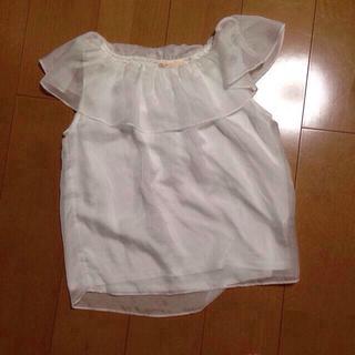 ハニーズ(HONEYS)のシフォンブラウス(シャツ/ブラウス(半袖/袖なし))